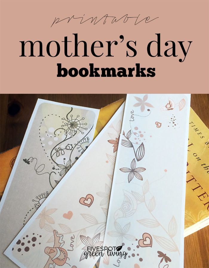 graphic regarding Mother's Day Bookmarks Printable Free named Totally free Moms Working day Printable Bookmarks Printables and
