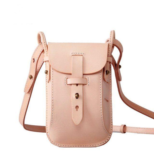 Fancy | Handmade leather mini crossbody bag bike bags