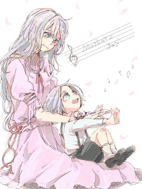 Tags: Anime, Tts, Katekyo Hitman REBORN!, Lavina, Gokudera Hayato, Mother, Mother And Son