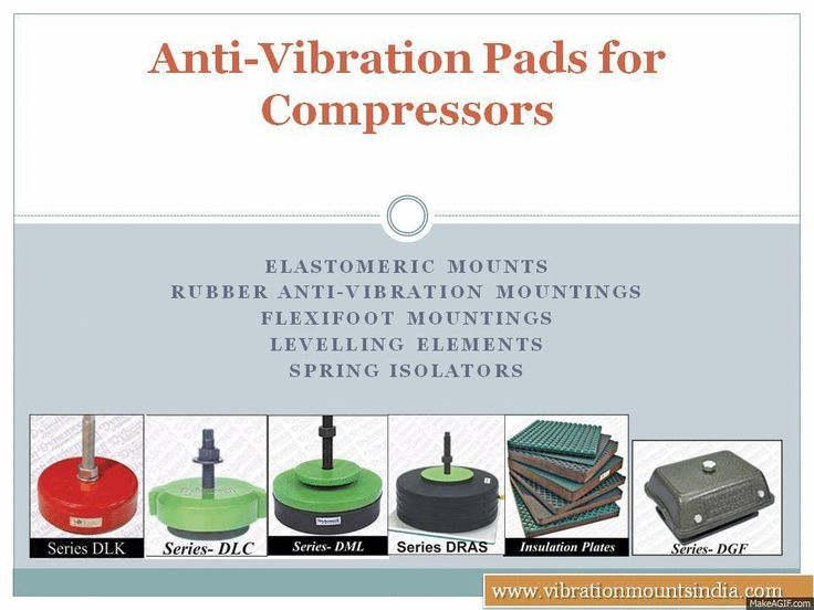 Anti Vibration Pads for Compressors