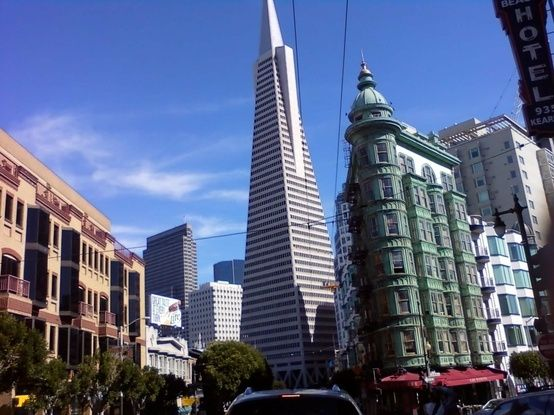 TransAmerican Building Coming out of North Beach, San Francisco #MyHometownPins