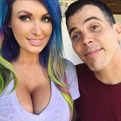 Those Jackass guys have all the fun! Steve-O just launched this video in which he tosses pingpong balls into the ample bosom of Australian DJ and tattooed model Laura Lux. #inked #inkedmag #jackass #steveo #australian #DJ #model #lauralux #video #hilarious
