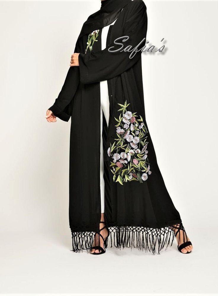 Pin By Intan Ume On Fashion For Women Abaya Fashion Fashion Abaya Designs