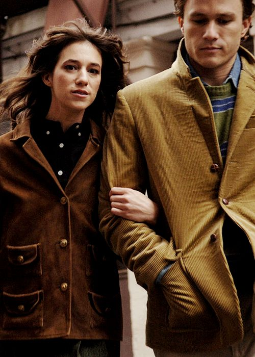 Charlotte Gainsbourg and Heath Ledger