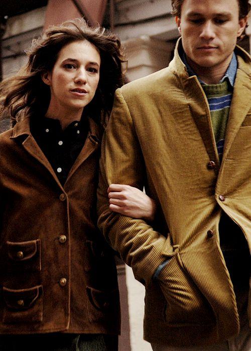 Charlotte Gainsbourg and Heath Ledger