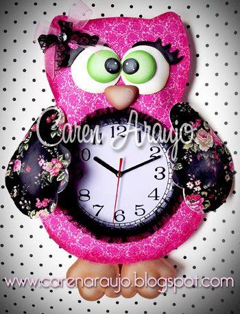 Tutti Colore by Caren Araujo: Pra não perder a hora!!!