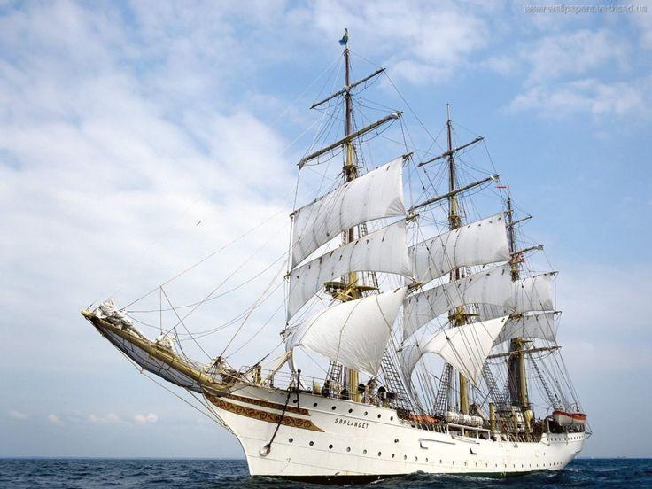 Segelfartyg - skrivbordsbilder: http://wallpapic.se/transporter/segelfartyg/wallpaper-5612