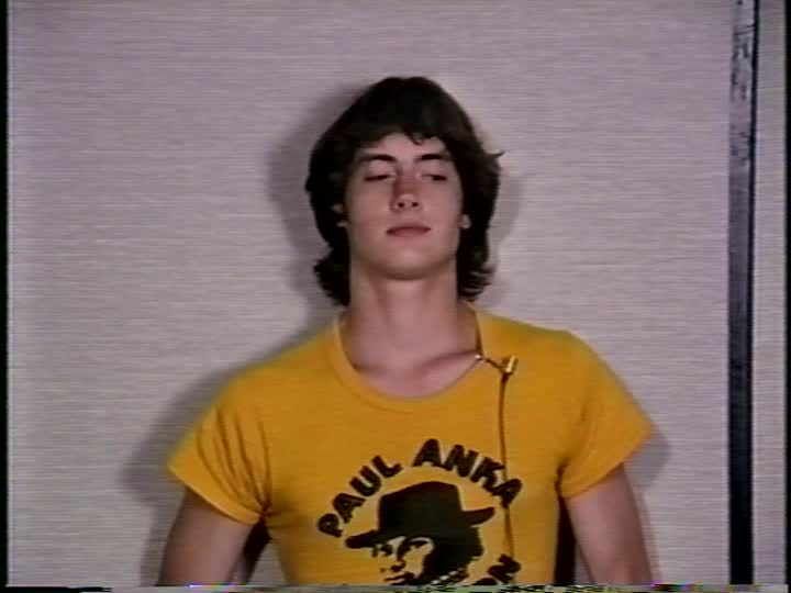 Jason London auditioning for Dazed and Confused