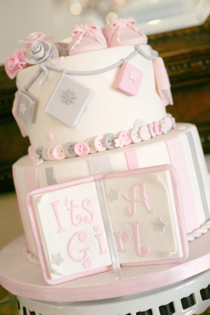 baby girl birthday cake elephant baby shower cake and baby girl