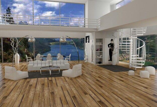 Progettazione #3D  #design #minimal #designer #casa #home #style #archidaily #architecture #architettura #livingroom