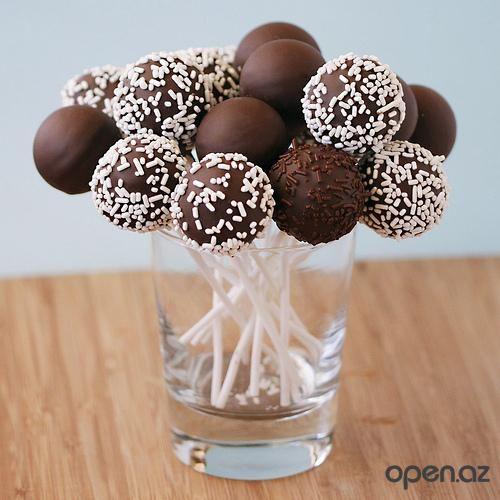 Мини пирожные(Cake pops)