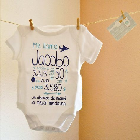 Body baby. My first Body. Custom body. Gift at birth. Newborn. Special  gift. Personalized gift. Christening gift 91ee1f53339