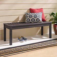 Садовая скамейка для патио на открытом воздухе деревянной мебели крыльцо сиденья войны парк палуба тренажерный зал двор