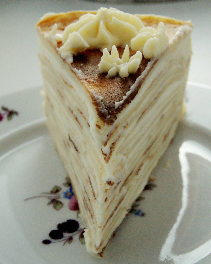 Блинный торт #готовим_с_alenakogotkova #торт #блины #вкусно #выпечка #еда #кпразднику #заварнойкрем #cake #delicious #crepe #food #delicious #dessert #custard #alenakogotkovacom #блинныйторт