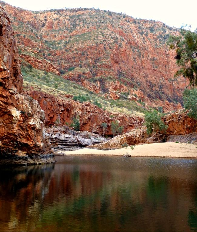 Ormiston Gorge - Alice Springs NT The site of Kate's first driving lesson