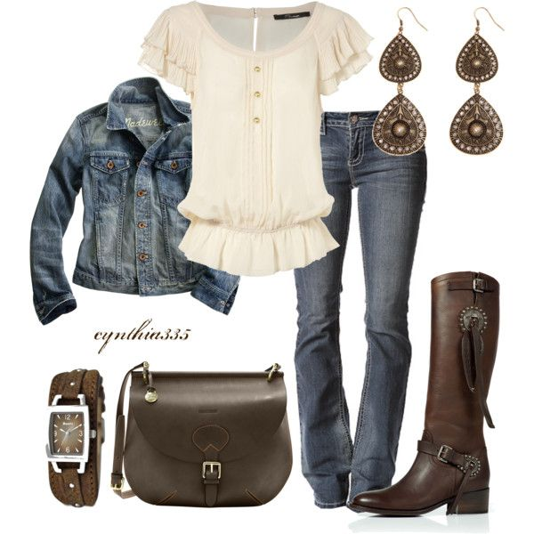 A Little Bit Country, created by cynthia335 on Polyvore