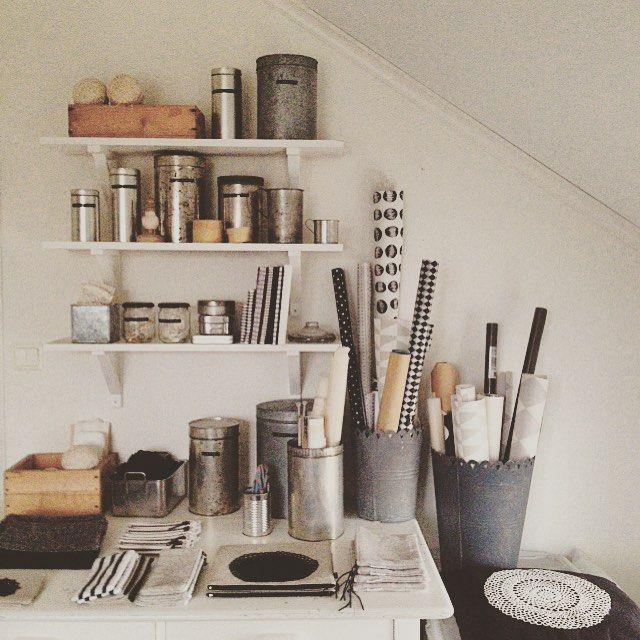 Workspace. Vintagedetails. Sewing Studio. Johanna Sandberg Home.