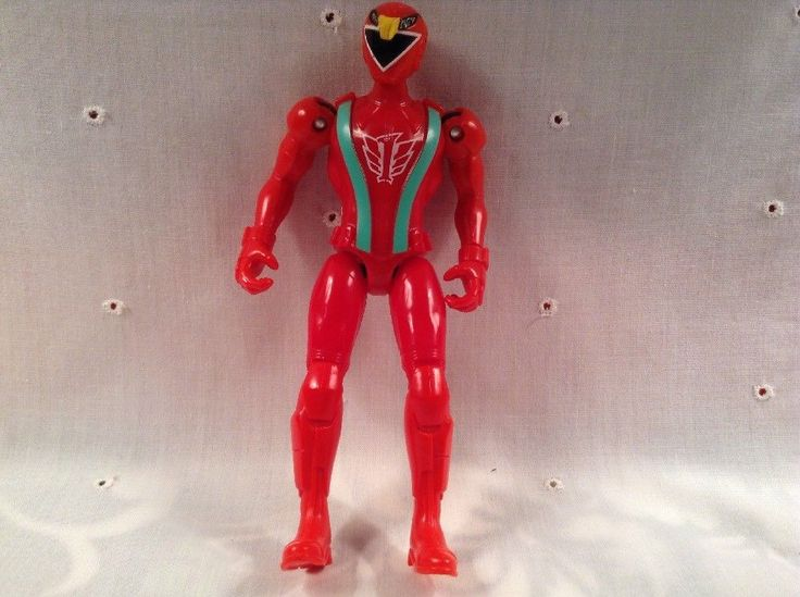 "Power Rangers 5.5"" RPM Red Ranger Action Figure by Bandai 2008 #01409 #Bandai"