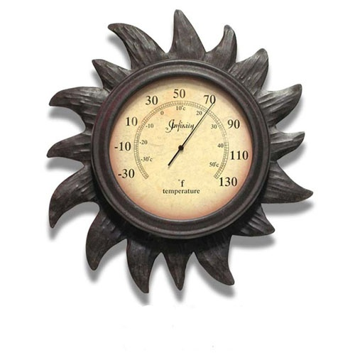 19 best Weather Clocks & Thermometers images on Pinterest | Indoor ...