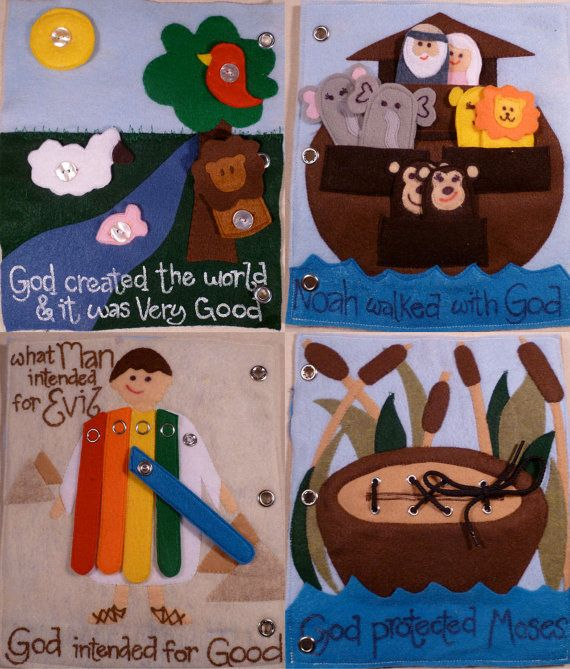 Busy Bible Busy Book 12 pages von BusyBlessings auf Etsy