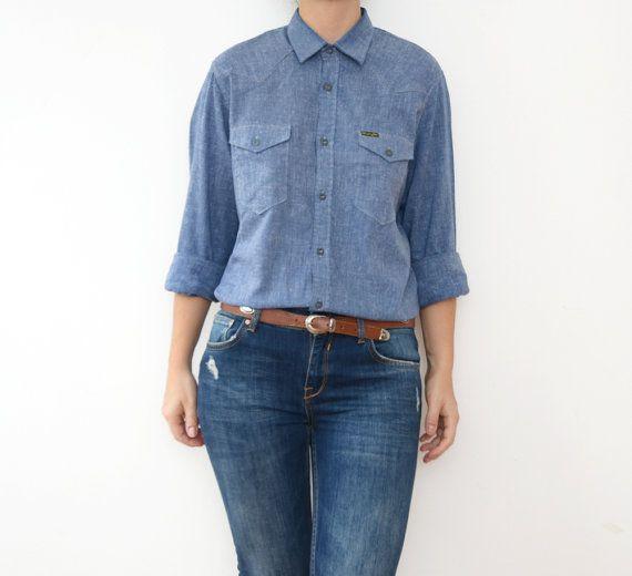 #Vintage #WRANGLER shirt #by ZvezdanaVintage, $35.00