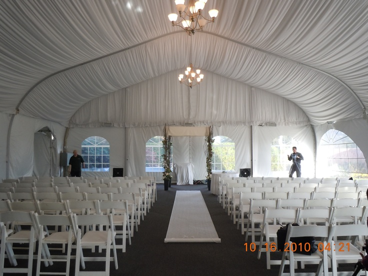 Wedding Of Emily And Travis At The Hyatt Regency In Cambridge Ma Ceremony Tent