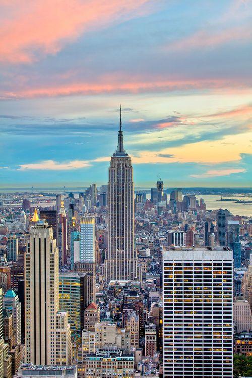 The #Manhattan Skyline, in #NewYork