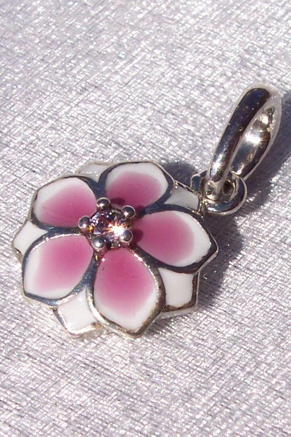 9b584c60f Pandora, Magnolia Bloom, Bracelet Charm, Dangle, Pendant, Enamel, Pink CZ,  925 ALE, Sterling Silver, Floral, Gift Ideas, 792086PCZ #Enamel #PinkCz ...