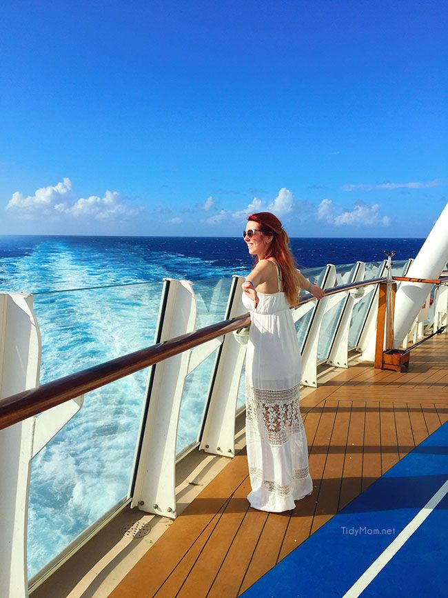 on deck of Royal Caribbean's Oasis of the Seas cruise ship image