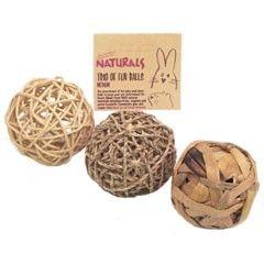 Naturals Trio of Fun Balls Medium