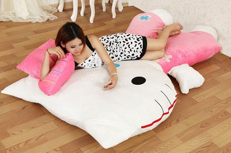 Giant Hello Kitty Bed #hellokitty #kawaii #japan #merch #merchandise #otaku