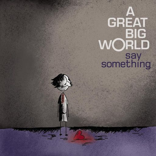 "▶ A Great Big World - ""Say Something"" - YouTube. Made me tear up... It hit home. Great song"