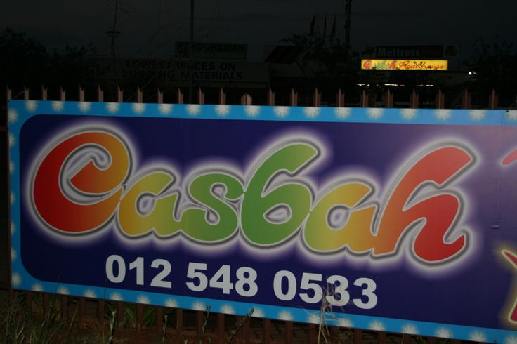 The New Casbah Roadhouse in Montana, Pretoria, South Africa.