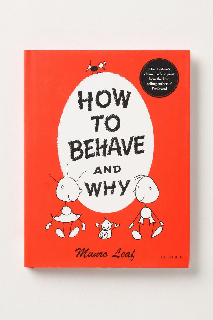how to behave......and why!Worth Reading, Book Worth, Munro Leaf, House8810 Online, Kids, Leaves, How To, Children Book, Behaved