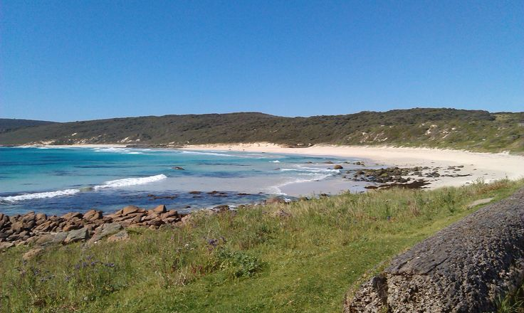 Not travel but a beautiful Spring Day at Smith Beach in Western Australia.