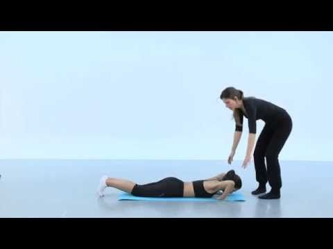 Clase de gimnasia hipopresiva - YouTube