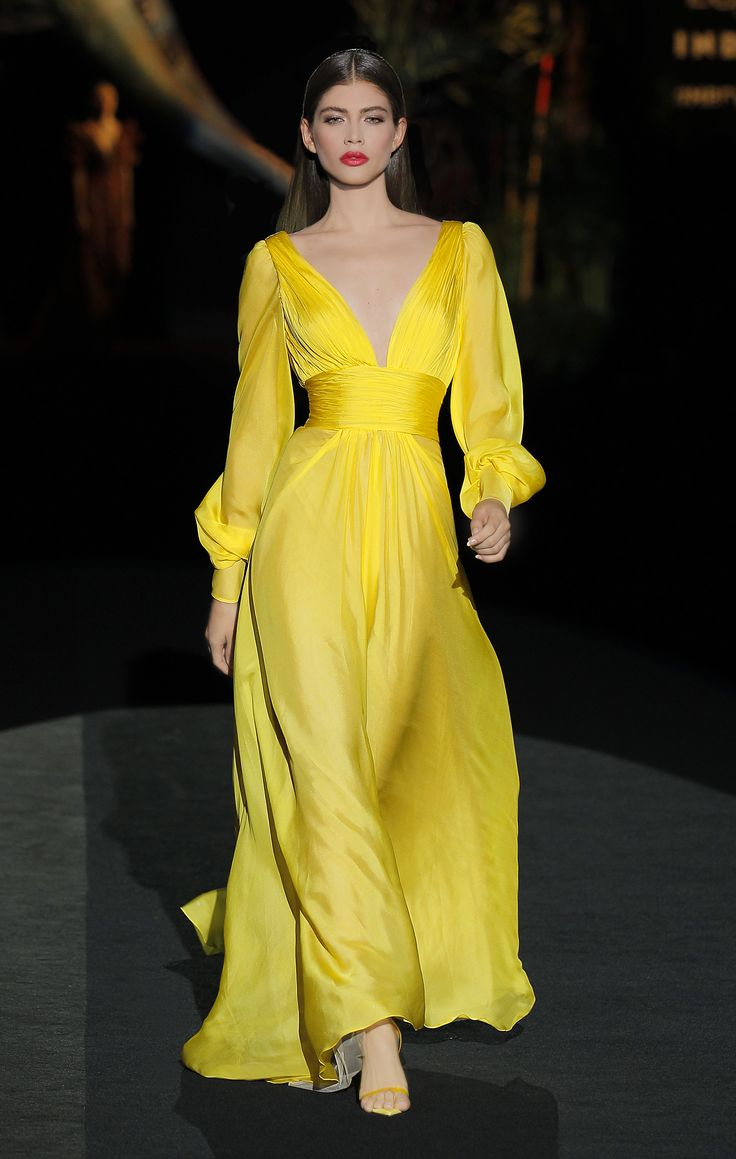 Vestido Fiesta – Colección Primavera Verano 2020 – Hannibal Laguna
