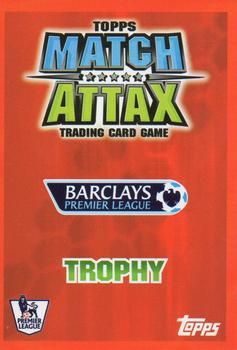 2007-08 Topps Premier League Match Attax #NNO Barclays-Master Trophy Back