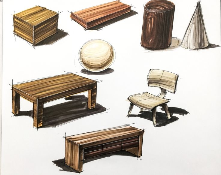 Wood in markers
