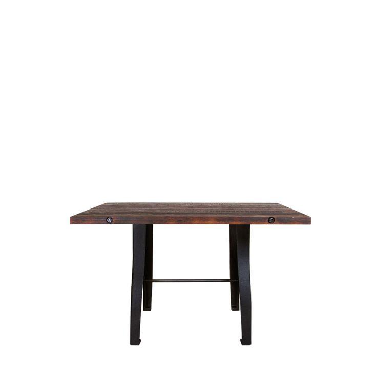 Метки: Деревянные столы, Кухонный стол.              Материал: Металл, Дерево.              Бренд: Gramercy Home.              Стили: Лофт.              Цвета: Темно-коричневый.