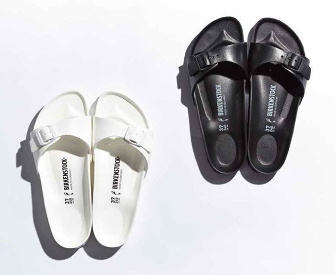 Minimal + Classic: Birkenstock madrids / all white  all black