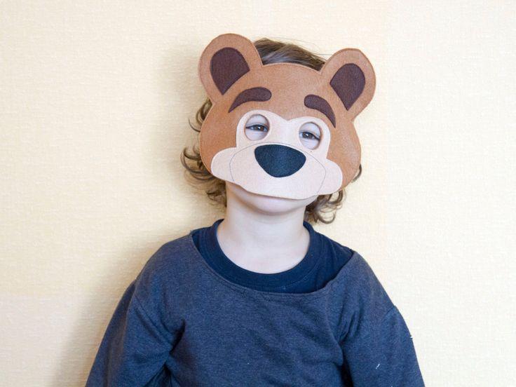 17 Best Ideas About Bear Mask On Pinterest Bear Crafts