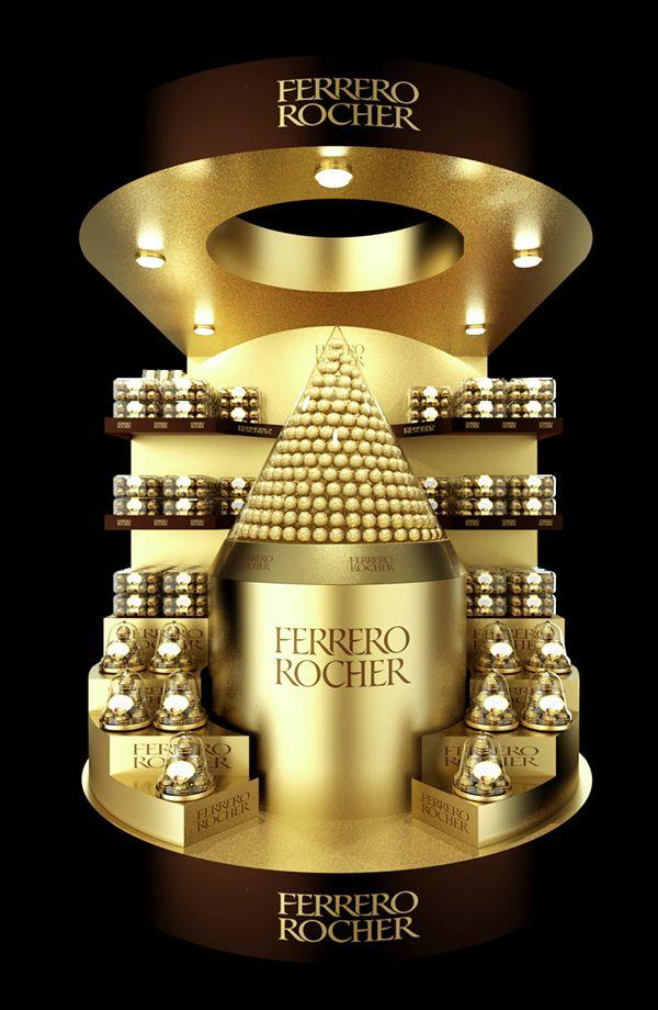 Ferrero Rocher pallet POSm on Behance