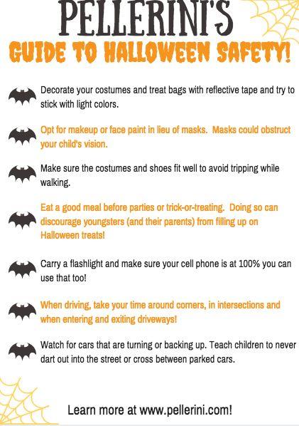 Best 25 Halloween Safety Tips Ideas On Pinterest