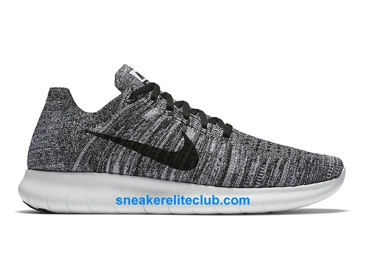 Nike Free RN Motion Flyknit Prix - Chaussures De Running Pas Cher Pour  Homme Gris/