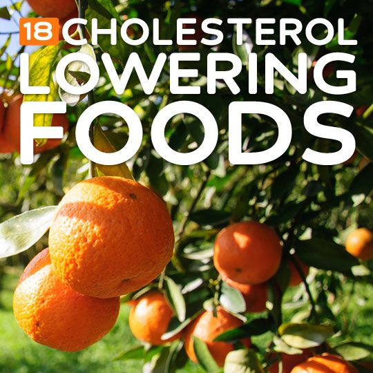 18 Cholesterol-Lowering Foods- for a healthy heart.