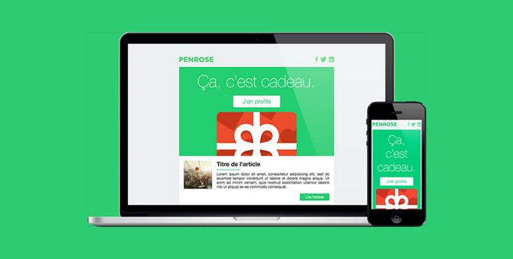 responsive EMAIL templates free
