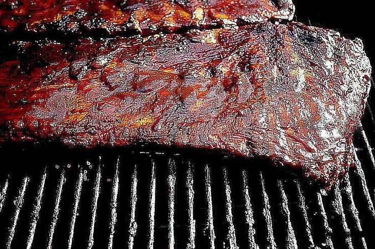 This BBQ beef rib recipe will make you say Oh Yeah through the whole meal! The sauce is sweet, spicy and slightly tart from the apple cider vinegar.
