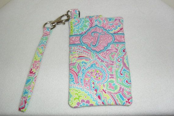 Pretty custom and personalized cell phone case by MuffysCreations