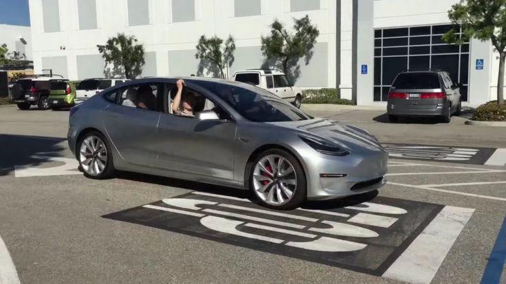 Tesla Model 3 2018. Первые живые фото и видео нового электромобиля